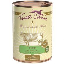 Terra Canis - Nassfutter - Rind mit Naturreis 400g