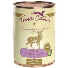 Terra Canis - Nassfutter - Wild mit Kürbis, Preiselbeeren und Amaranth 400g