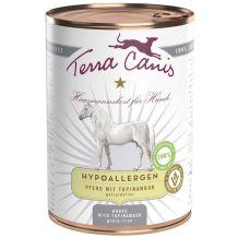 Terra Canis - Nassfutter - Hypoallergen Pferd mit Topinambur 6 x 400g (getreidefrei)