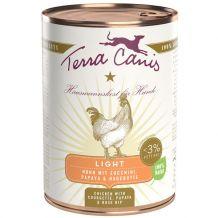 Terra Canis - Nassfutter - Light Huhn mit Zucchini, Papaya und Hagebutte (getreidefrei)