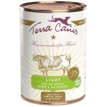 Terra Canis Light - Nassfutter - Rind mit Kürbis, Mango und Artischocke 400g