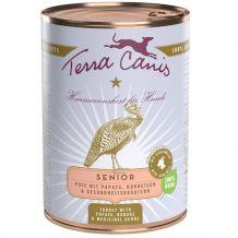 Terra Canis - Nassfutter - Senior Pute mit Papaya, Borretsch & Gesundheitskräutern (getreidefrei) 400