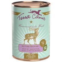 Terra Canis - Nassfutter - Sensitiv Wild mit Kartoffel 400g