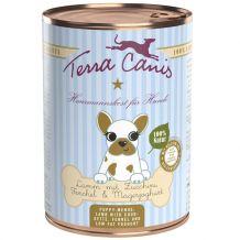 Terra Canis - Nassfutter - Welpe Lamm mit Zucchini, Fenchel & Magerjoghurt 400g (glutenfrei)t