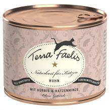 Terra Faelis -  Nassfutter -  Huhn mit Kürbis und Katzenminze 200g