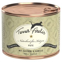 Terra Faelis - Nassfutter - Pute mit Zucchini und Kamille 200g