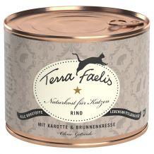 Terra Faelis - Nassfutter - Rind mit Gemüse 200g