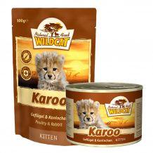 Wildcat - Nassfutter - Karoo Kitten mit Geflügel und Kaninchen