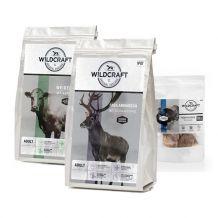 Wildcraft - Trockenfutter - Premium Paket 2 x 1kg + Snack 50g (getreidefrei)