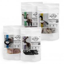 Wildcraft - Hundesnack - Aktionspaket Faserfleisch 4 x 50g (getreidefrei)