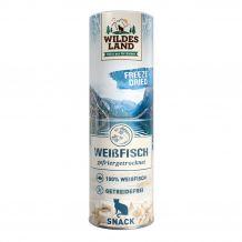 Wildes Land - Katzensnack - Freeze Dried Snack Weißfisch