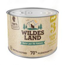 Wildes Land - Nassfutter - Huhn PUR mit Distelöl4