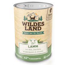 Wildes Land - Nassfutter - Lamm mit Reis, Zucchini, Wildkräutern und Distelöl