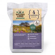 Wildes Land - Trockenfutter - Kaninchen mit Kartoffeln und Wildkräutern (getreidefrei) Krokettenabbildung