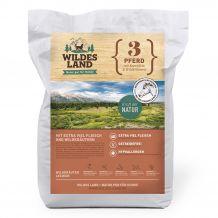 Wildes Land - Trockenfutter - Pferd mit Kartoffeln und Wildkräutern Futterprobe 70g (getreidefrei)