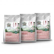 Wildes Land - Trockenfutter - Soft Rind mit Reis und Wildkräutern 3 x 5kg