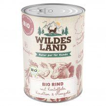 Wildes Land - Nassfutter - Bio Rind mit Kartoffeln