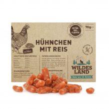 Wildes Land - Kausnack - Hühnchen mit Reis
