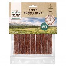 Wildes Land - Kausnack - Pferde Dörrfleisch 7 Stück (getreidefrei)