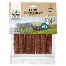 Wildes Land - Kausnack - Lamm Dörrfleisch 7 Stück (getreidefrei)
