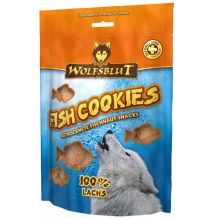 Wolsblut - Kausnack - Fish Cookies Lachs 150g