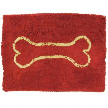 Wolters - Hundezubehör - Dog Gone Smart Dirty Dog Doormat rot