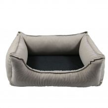 Wolters - Hundebett - Dog Lounge Noble Stripes beige/granit