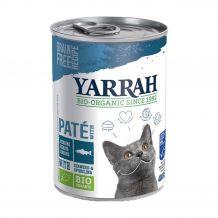 Yarrah - Nassfutter - Bio Paté mit Hering, Seetang & Spirulina 400g
