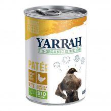 Yarrah - Nassfutter - Bio Paté mit Huhn, Seetang & Spirulina 400g