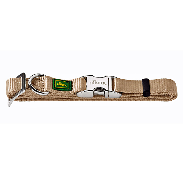 ... Hunter   Hundehalsband Vario Basic Alu Strong Beige ...