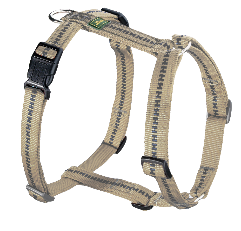 ... Hunter   Hundegeschirr Power Grip Vario Rapid Beige ...