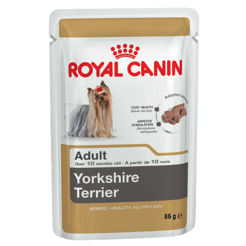 Royal Canin - Nassfutter - Breed Yorkshire Terrier Adult Hundefutter ...