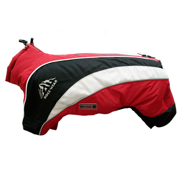 Wolters - Hundebekleidung - Skianzug Dogzwear rot/schwarz - Wolters ...