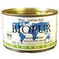 BIOPUR - Nassfutter - Leichte Kost, Rind 12 x 400g