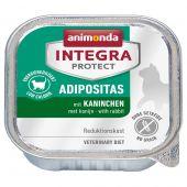 Animonda - Nassfutter - Integra Protect Adult Adipositas mit Kaninchen (getreidefrei)