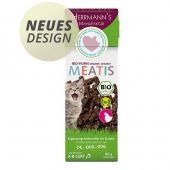 Herrmann's - Katzensnack - Meatis Bio-Huhn (getreidefrei)
