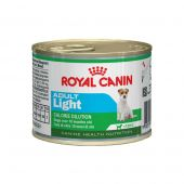 Royal Canin - Nassfutter - Canine Health Nutrition Mini Adult Light Nassfutter für übergewichtige kleine Hunde