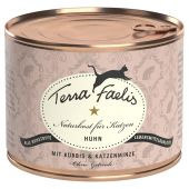 Terra Faelis - Nassfutter - Huhn mit Kürbis und Katzenminze (getreidefrei)