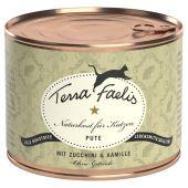 Terra Faelis - Nassfutter - Pute mit Zucchini und Kamille (getreidefrei)