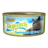 Wildcat - Nassfutter - Skipjack Thunfischfilet mit Mischgemüse (getreidefrei)