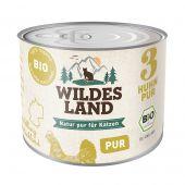 Wildes Land - Nassfutter - Bio Huhn PUR (getreidefrei)
