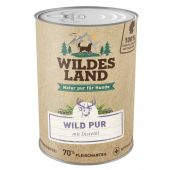 Wildes Land - Nassfutter - Wild PUR mit Distelöl (getreidefrei)
