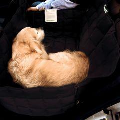 Doctor Bark - Hundedecke - 2-Sitz-Autodecke in Schwarz