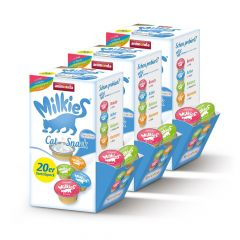 Animonda - Katzensnack - Vorteilspaket Milkies Selection 60 x 15g