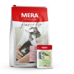 Mera - Katzenfutter - Premium Paket Finest Fit Trockenfutter 4kg + Nassfutter 12 x 85g
