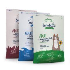Sanabelle - Trockenfutter - Vorteilspaket Delicious Trio 3 x 2kg