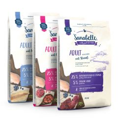 Sanabelle - Trockenfutter - Vorteilspaket Adult Duo 2 x 2kg