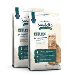 Sanabelle - Trockenfutter - Vorteilspaket Outdoor 2 x 2kg