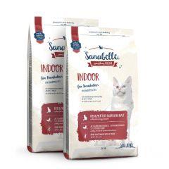Sanabelle - Trockenfutter - Vorteilspaket Indoor 2 x 2kg
