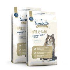 Sanabelle - Trockenfutter - Vorteilspaket Hair & Skin 2 x 2kg